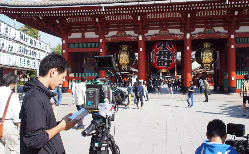 TBS「結婚式の前日に」の撮影が浅草で行われました!