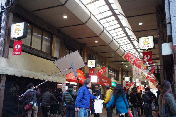 ついに最終回!日本テレビ「掟上今日子の備忘録」の撮影が佐竹商店街で行なわれました!